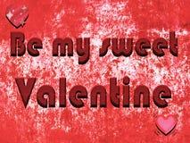 Fondo del día del ` s de la tarjeta del día de San Valentín con textura de las letras del chocolate Imagenes de archivo