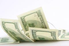 Fondo del dólar Fotografía de archivo libre de regalías