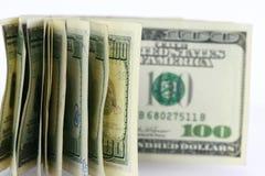 Fondo del dólar Imagen de archivo