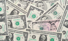 Fondo del dólar. Imagen de archivo libre de regalías