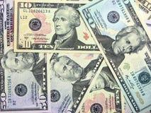 Fondo del dólar Imagenes de archivo
