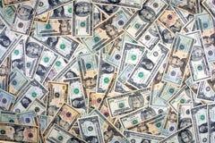 Fondo del dólar Foto de archivo libre de regalías
