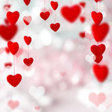 Fondo del día de tarjeta del día de San Valentín Imágenes de archivo libres de regalías