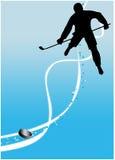 Fondo del deporte del hockey sobre hielo Imagen de archivo