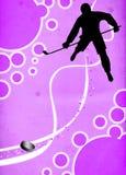 Fondo del deporte del hockey sobre hielo Fotos de archivo libres de regalías