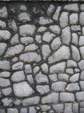 Fondo del dettaglio della parete della roccia del granito Fotografie Stock