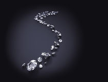 Fondo del diamante Foto de archivo libre de regalías