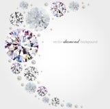 Fondo del diamante Imagen de archivo libre de regalías