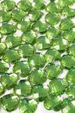 Fondo del diamante artificial Textura de la forma del corazón como foto blanca del estudio del contexto Modelo del cristal del di Imágenes de archivo libres de regalías