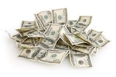 Fondo del dinero Foto de archivo libre de regalías