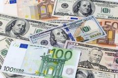 Fondo del dinero Fotografía de archivo