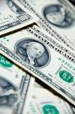 Fondo del dinero de cientos dólares Fotografía de archivo libre de regalías
