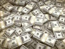 Fondo del dinero nosotros moneda Fotos de archivo libres de regalías