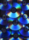 Fondo del disco óptico Fotografía de archivo libre de regalías