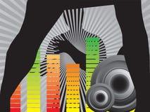 Fondo del disco Imagen de archivo libre de regalías