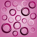 Fondo del diseño de los círculos Fotos de archivo