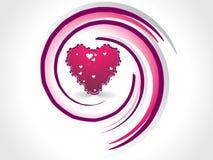 Fondo del diseño del día de tarjeta del día de San Valentín Foto de archivo