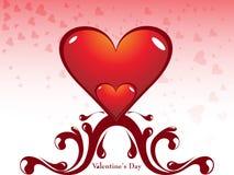 Fondo del diseño del día de tarjeta del día de San Valentín Imagen de archivo libre de regalías