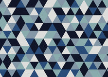 Fondo del diseño del extracto del triángulo Modelo geométrico Fotografía de archivo libre de regalías