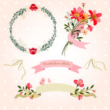 Fondo del diseño floral?, contexto, diseño de la ilustración Imagenes de archivo