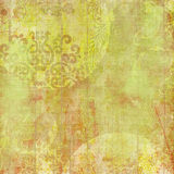 Fondo del diseño floral del batik de Artisti Fotografía de archivo libre de regalías
