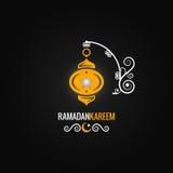 Fondo del diseño de la linterna del Ramadán Imagen de archivo