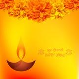 Fondo del diya de Diwali