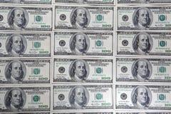 Fondo del dólar Imagen de archivo libre de regalías