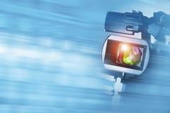 Fondo del documentario video immagini stock libere da diritti
