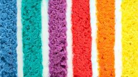 Fondo del dolce multicolore Fotografia Stock