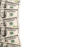 Fondo del dollaro Fotografia Stock Libera da Diritti