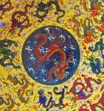 Fondo del dragón Foto de archivo