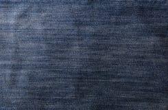 Fondo del dril de algodón de los pantalones vaqueros Imágenes de archivo libres de regalías