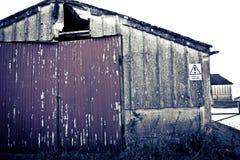 Fondo del edificio de Grunge Fotografía de archivo libre de regalías