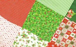 Fondo del edredón de la Navidad Imagenes de archivo