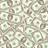 Fondo del efectivo Imagen de archivo libre de regalías