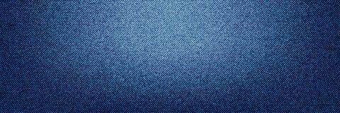 Fondo del ejemplo de la materia textil de los vaqueros del dril de algodón Foto de archivo libre de regalías
