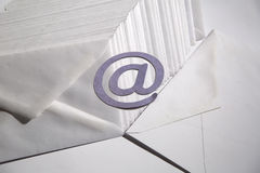 Fondo del email Fotos de archivo libres de regalías