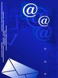 Fondo del email Imagen de archivo libre de regalías