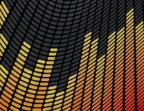 Fondo del equalizador de la música Imagen de archivo libre de regalías