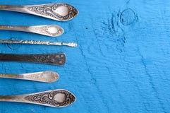 Fondo del equipo de la comida de la cocina Imagen de archivo libre de regalías