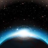 Fondo del espacio ilustración del vector