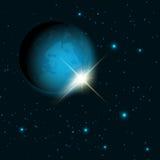 Fondo del espacio Imagen de archivo libre de regalías