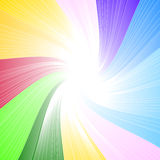 Fondo del espectro del arco iris Imágenes de archivo libres de regalías