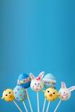 Fondo del estallido de la torta de Pascua imagen de archivo libre de regalías