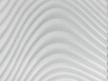 fondo del extracto 3D de Grey White Curve Lines, ejemplo Fotografía de archivo libre de regalías
