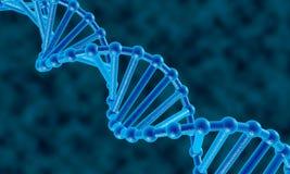Fondo del extracto de la DNA Imagen de archivo libre de regalías