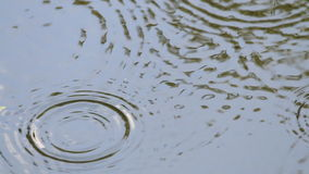 Fondo del extracto de la ondulación del agua metrajes