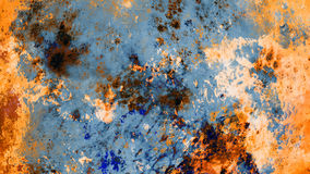 Fondo del extracto de la pared de Rusty Precious Grunge Stone Painting Fotos de archivo