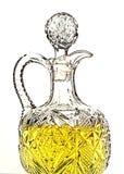 Fondo del extracto del aceite de oliva Fotografía de archivo